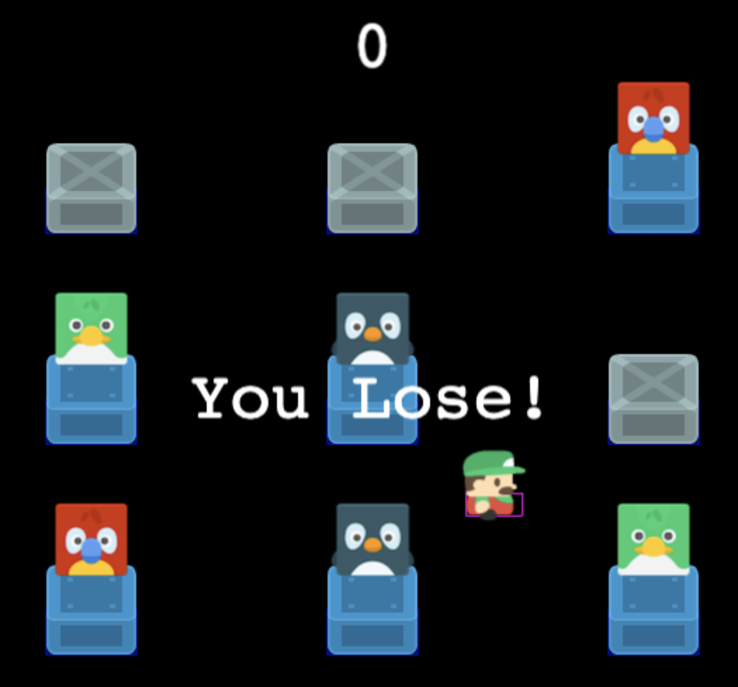 You Lose! - Countdown Finished